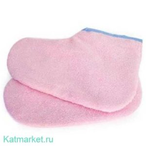 №17 Махровые носочки, розовые