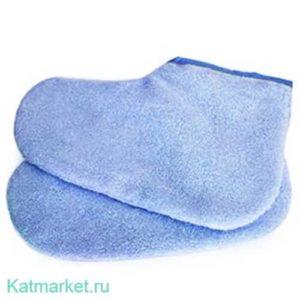 №18 Махровые носочки, голубые