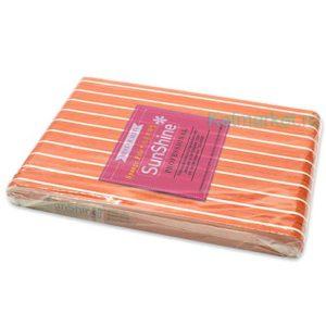 Шлифовка SunShine 100/180, оранжевая прямая блок 10шт