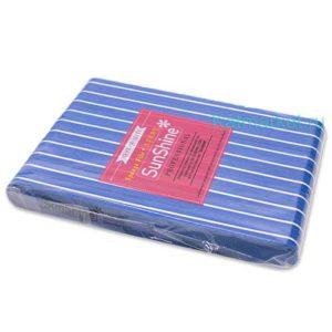 Шлифовка SunShine 100/180, синяя прямая блок 10шт