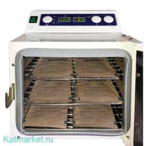 Сухожаровой шкаф для стерилизации Ферропласт 5л, черный