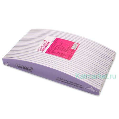 Пилка SunShine Луна 150/150 фиолетовая, блок 25шт