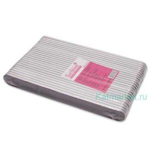 Пилка SunShine Прямая 100/100 фиолетовая, блок 25шт