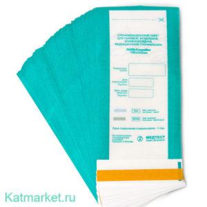 СтериМаг Пакет для стерилизации 100шт, комбинированный 100х200