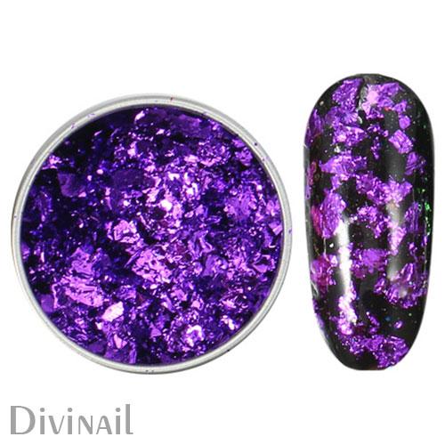 Пигмент Юки хлопья в баночке 06 фиолетовые